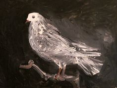 """Pablo Picasso. """" Pigeon on a Perch"""". 1960."""