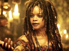 Tia Dalma from Pirates' Dead Man's Chest. Quite possibly my favorite from all three movies.