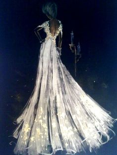 couture gown art