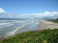 Praias Desertas em SP - Praia da Barra do Una do Sul