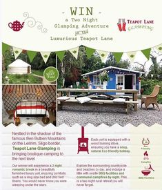 Happy Friday everyone! Today we launched a very cool competition on budget.ie. Win a two night Glamping break in a luxury yurt at Teapot Lane in Co. Leitrim. Click the link below to enter and don't forget to like and share!#competition   www.budget.ie/competition  June - August 1st 2013