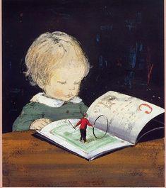 poboh:Komako Sakai / 酒井 駒子 (Japanese, contemporary) ~ Picture Book