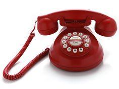 Un teléfono antiguo