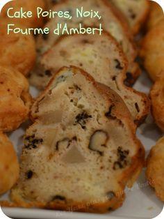 cake poire noix fourme d'Ambert