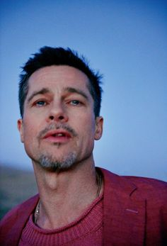 Brad Pitt by Ryan McGinley