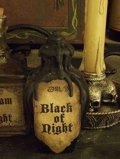 Snow White Inspired Potion Bottle: