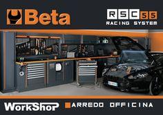 Sistema modulare per officine Beta RSC55 | Work Shop Italy: ferramenta online, utensili professionali