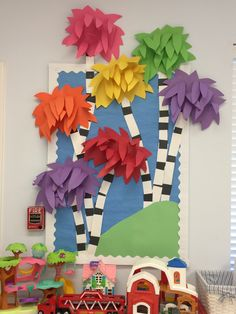 Dr Seuss bulletin board