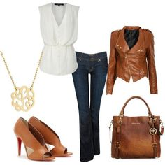 I ll have to get prepared for my trip to the colder countires!! This bag & shoes will match my leather jacket well.  LOLO Moda: Trendy Women Styles 2013