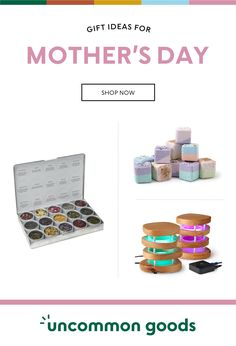 Find the best Mothers Day Gifts she'll love at Uncommon Goods. Our unique gift ideas for mom on this special occasion will celebrate her with sentiment and style and show her just how much you care! Funny Birthday Gifts, Birthday Gifts For Women, Christmas Gifts For Mom, Valentine Day Gifts, Unique Gifts For Mom, Presents For Mom, Mom Jewelry, Wine Gifts, Novelty Gifts