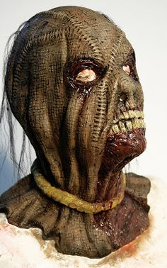 Makeup Design: Full Head Masks by vancouverfilmschool. Inspiration for a head build.