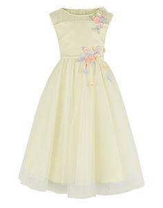 Buy Party Dresses - Fallon Dress (Yellow/Green)