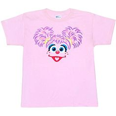 Sesame Street Abby Cadabby Toddler T-Shirt http://www.beststreetstyle.com/sesame-street-abby-cadabby-toddler-t-shirt-2/ #fashion   Sesame Street Abby Cadabby Toddler T-Shirt Abby Cadabby! Who can resist these cute Sesame Street character face kids t-shirts? This shirt is all face...Abby's Cadabby that is. Dress the whole family, with our Sesame Street charcter shirts for your next birthday party. This pink, standard fit toddler t-shirt is made of 100% cotton. Be sure to check out our..