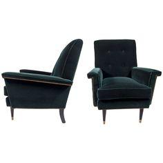 Pair of Muir Club Chairs