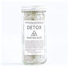 Bath salt detox