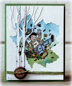 Fall Boy by Biggan - Cards and Paper Crafts at Splitcoaststampers