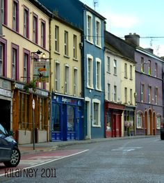 The town of Kilarney, how I crave to trod these streets. Kilarney Ireland, Ireland Vacation, Barbie Dream House, Our World, Christmas Ornament, Places Ive Been, Vacations, Irish, Destinations