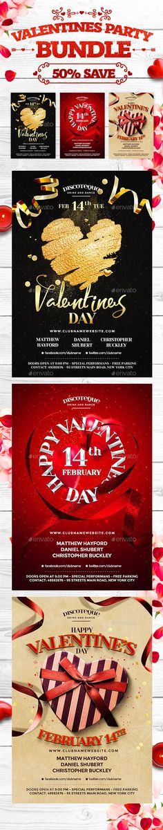 #Valentine Bundle - Holidays Events Download here: https://graphicriver.net/item/valentine-bundle/19373054?ref=alena994