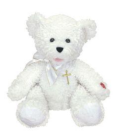 Jordan Bear Musical Plush Toy by Chantilly Lane #zulily #zulilyfinds