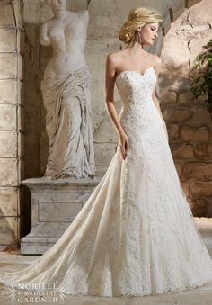 "Mori Lee ""In Stock"" Wedding Dress - Style 2779"