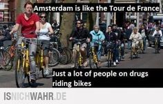 Amsterdam is like... :-)