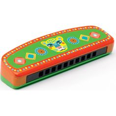 Get musical with this sweet Djeco harmonica. This colourful Animambo harmonica features a cute tiger face. Toy Musical Instruments, Musical Toys, Baby Online, Kids Online, Childrens Shop, Cute Tigers, Tiger Face, Baby Kind, Preschool Art