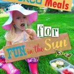 Pack lunch boxes for meals and snacks all summer long