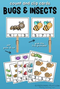 This free printable activity is a fun way for children to improve their number sense. It encompasses many math skills and concepts.