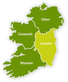 Leinster | Map-Leinster
