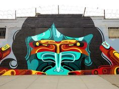 Street art | Mural (Bushwick, New York City, USA) by Reka One [aka James Reka]