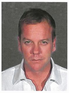 KIEFER SUTHERLAND Celebrity Mug Shots: The Usual & Unusual Suspects | Celebrity and Entertainment News | PressRoomVIP - Part 9