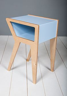 Contemporary bedside table- Mod bedside table