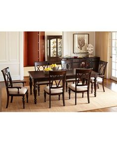 crestwood dining room furniture collection - furniture - macy's