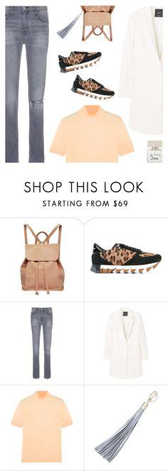 """Leopard Sneakers"" by shoelover220 ❤ liked on Polyvore featuring Urban Originals, Dolce&Gabbana, Current/Elliott, MANGO, Jil Sander, Furla, Bella Freud and LeopardSneakers"