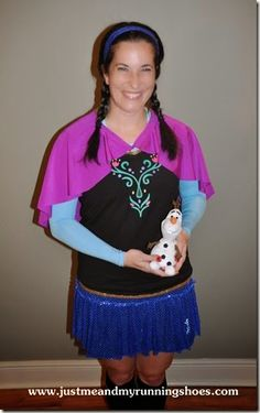 Princess Anna Running Costume via Just Me And My Running Shoes