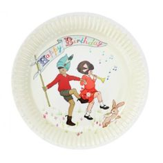 Belle & Boo 9'' Happy Birthday Plate | 8ct by Talking Tables. $5.25. Great for birthday parties!. 2 different designs on these plates will add variety to your meal. Plates feature the beloved characters, Belle & Boo. These delightful plates are perfect for your next birthday party! This package contains two unique and exciting designs that are sure to thrill your guests! Featuring the beloved characters, Belle & Boo, these plates are a birthday celebration on their own!