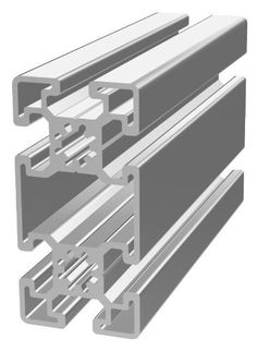 80/20 45 SERIES 45-4590 45mm X 90mm T-SLOTTED EXTRUSION x 2440mm by 80/20 Inc. $124.45. 80/20 45 SERIES 45mm X 90mm T-SLOTTED ALUMINUM EXTRUSION. This adjustable, modular framing material, assembled with simple hand tools, is a perfect solution for custom machine frames, guarding, enclosures, displays, workstations, prototyping, and beyond.