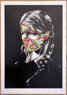 Sandra Chevrier & Martin Whatson La Cage et les deux âmes - GraffitiPrints.com