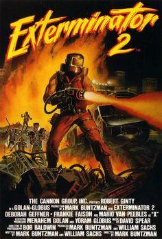 """Exterminator 2"" (1984) VHS cover"