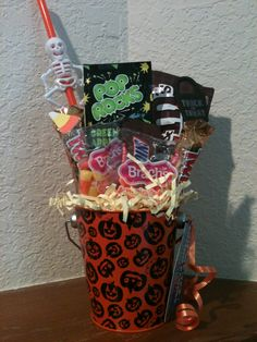 Halloween Candy Bouquet $10.00