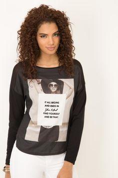 BLUSA KOAJ SAFIL Hoodies, Sweatshirts, Graphic Sweatshirt, Sweaters, Fashion, Block Prints, Blouse, T Shirts, Moda
