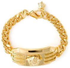 Versace rectangular Medusa bracelet - Men's Jewelry