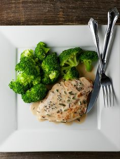 Rosemary Peppercorn Chicken - elegance on a plate in less than 30 minutes!