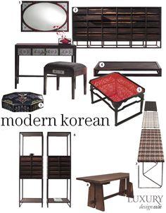 LUXURY_ 매력적인 선과 형태로 눈길을 끄는 '한국 디자인'의 새로운 모습 MODERN KOREAN