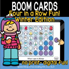 Boom Cards - Speechbop Increase Vocabulary, Two Player Games, Receptive Language, New Words, Student Learning, Speech Therapy, The Row, Distance, Essentials