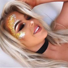 @bysiobhan_  making me want summer  look how stunning this festival makeup is using our glitters ✨✨