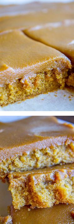 Caramel Cake with Caramel Icing Recipe - Have you ever made a Caramel Cake with Caramel Icing recipe? It's a classic Southern treat! But instead of a layer cake, I made it into a thin sheet cake. Less time baking, more time eating, I say! It's really easy to put together. #southern #icing #recipe #caramel #frosting #cake #sheetcake #oldfashioned #easy #homemade | Posted By: DebbieNet.com