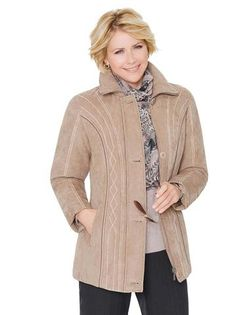 Ladies Suede Fashion Casual Style Autumn Jacket PLUS SIZE AVAILABLE 2  Colors S-7XL Suede 339e159fc5e2