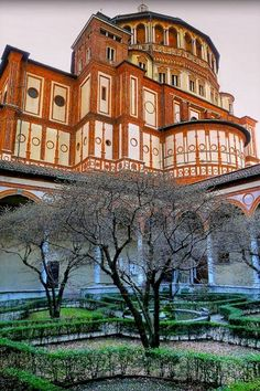 The Church of Santa Maria delle Grazie ♦ Milan, Italy (by montezumola)