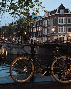 Amsterdam by night by ( Nikon Photography, Travel Photography, Nikon D3200, Netherlands, Dutch, Scenery, Amsterdam Holland, Europe, Lights